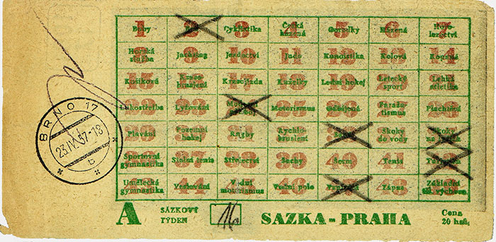 Bohatá historie Sazky přehledně